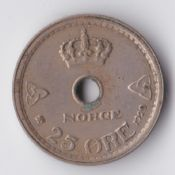 Norway, Haakon VII, 10 Ore 1929, F, WE1009